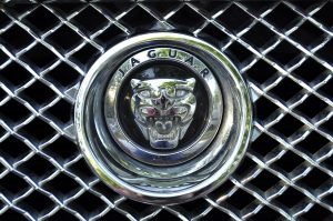 Jaguar XJL Grille Badge